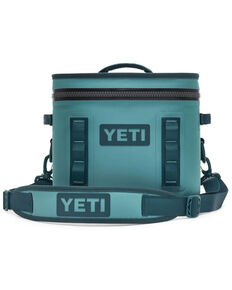 YETI Hopper Flip 12 River Green Cooler, Green, hi-res