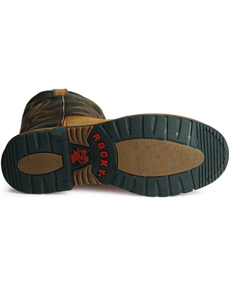 Rocky Branson Roper Work Boots, Brown, hi-res