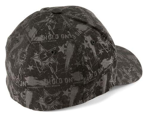PBR Hold On Black Flexfit Cap, Black, hi-res