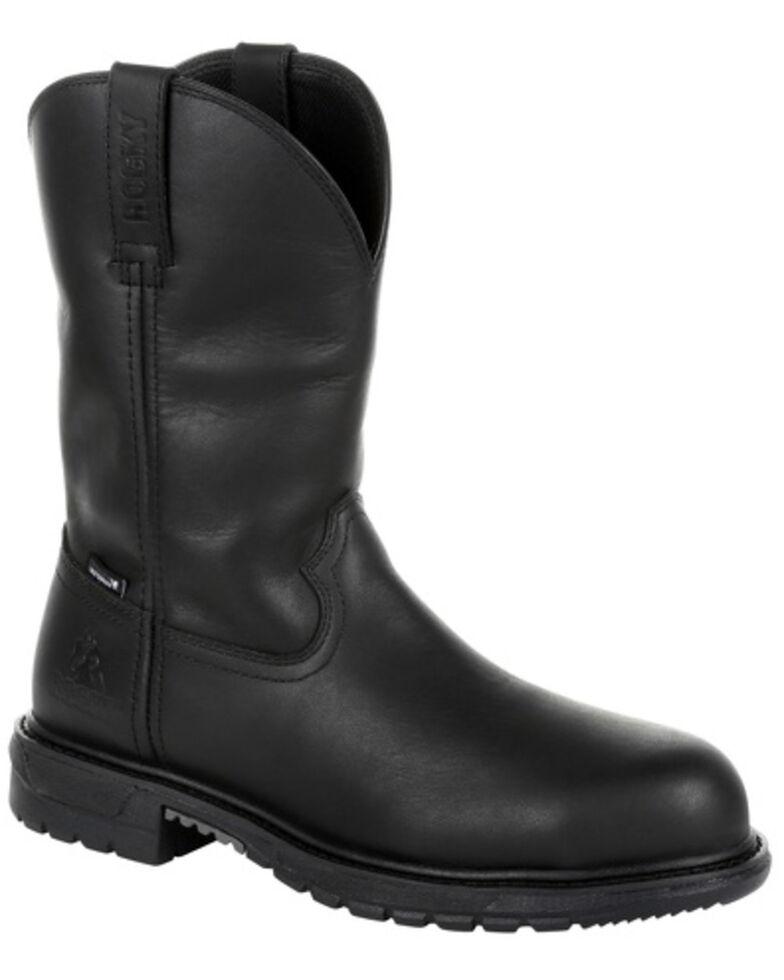 503df5ebfe5 Rocky Men's Original Ride FLX Waterproof Western Boots - Steel Toe