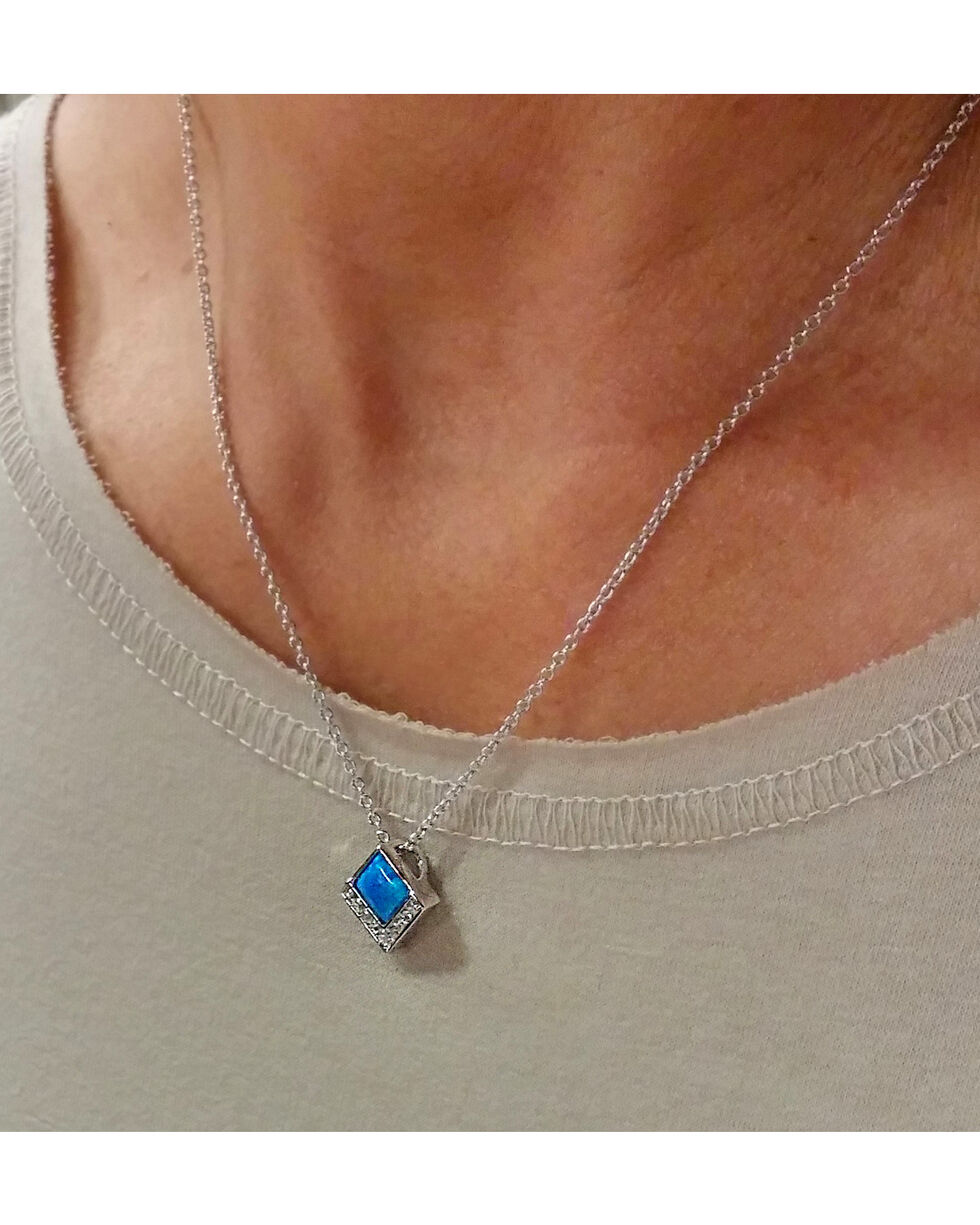 Montana Silversmiths Women's River of Light Infinity Pool Necklace, No Color, hi-res