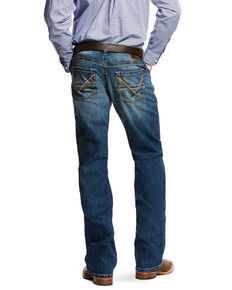Ariat Men's M5 Del Mar Slim Bootcut Jeans , Indigo, hi-res