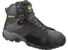 "Caterpillar 6"" Argon Waterproof Lace-Up Work Shoes - Composite Toe, Black, hi-res"
