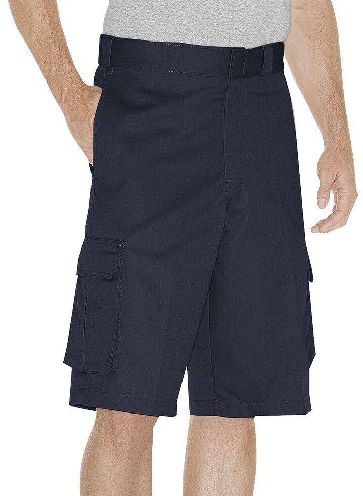 Dickies Twill Cargo Shorts, Navy, hi-res
