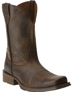 Ariat Rambler Cowboy Boots - Square Toe, Wicker, hi-res