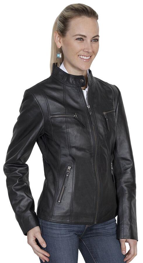 Scully Leatherwear Lamb Jacket, Black, hi-res
