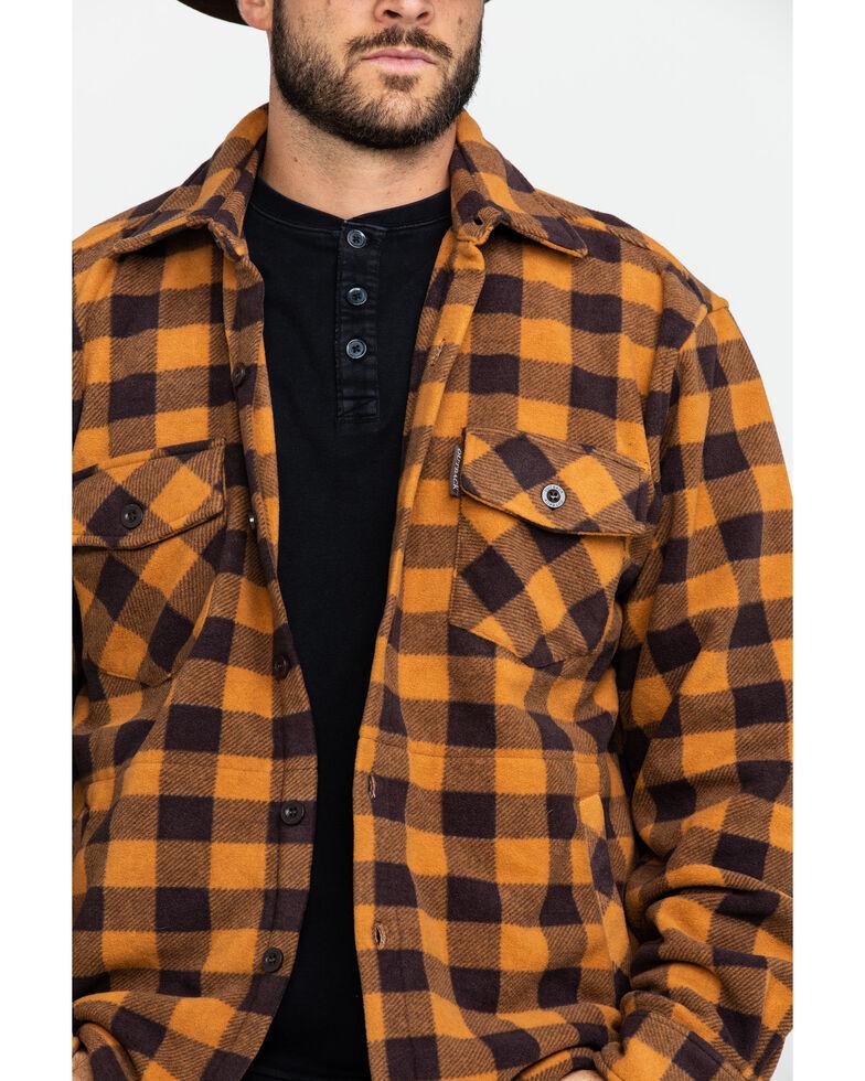 Outback Trading Co. Men's Big Flannel Shirt , Brown, hi-res