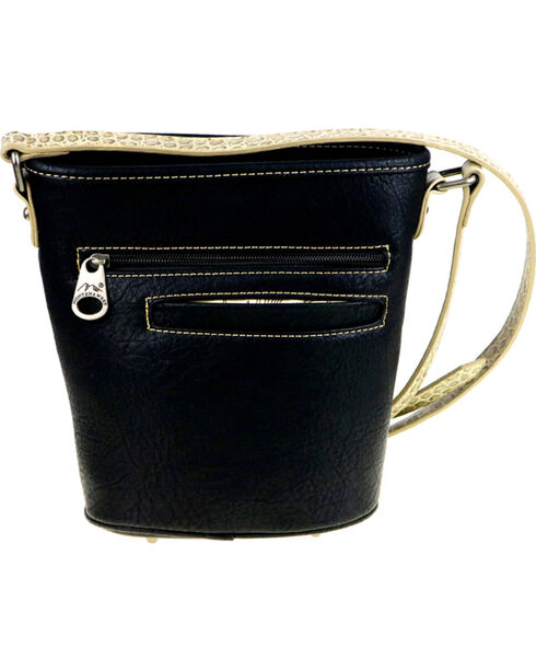 Montana West Women's Floral Embroidered Bucket Shape Crossbody Bag , , hi-res