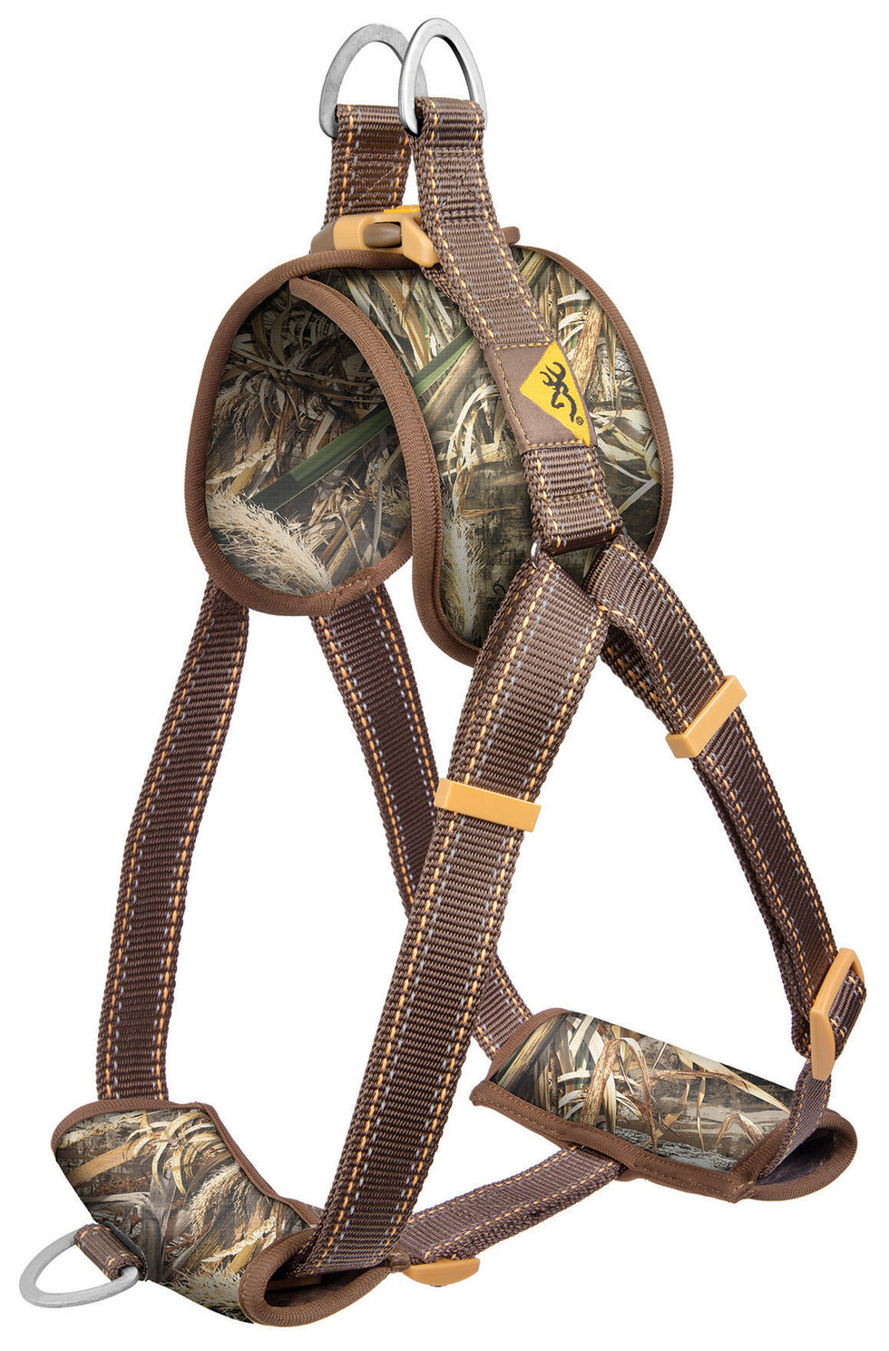 Browning Small Camouflage Walking Dog Harness, Camouflage, hi-res