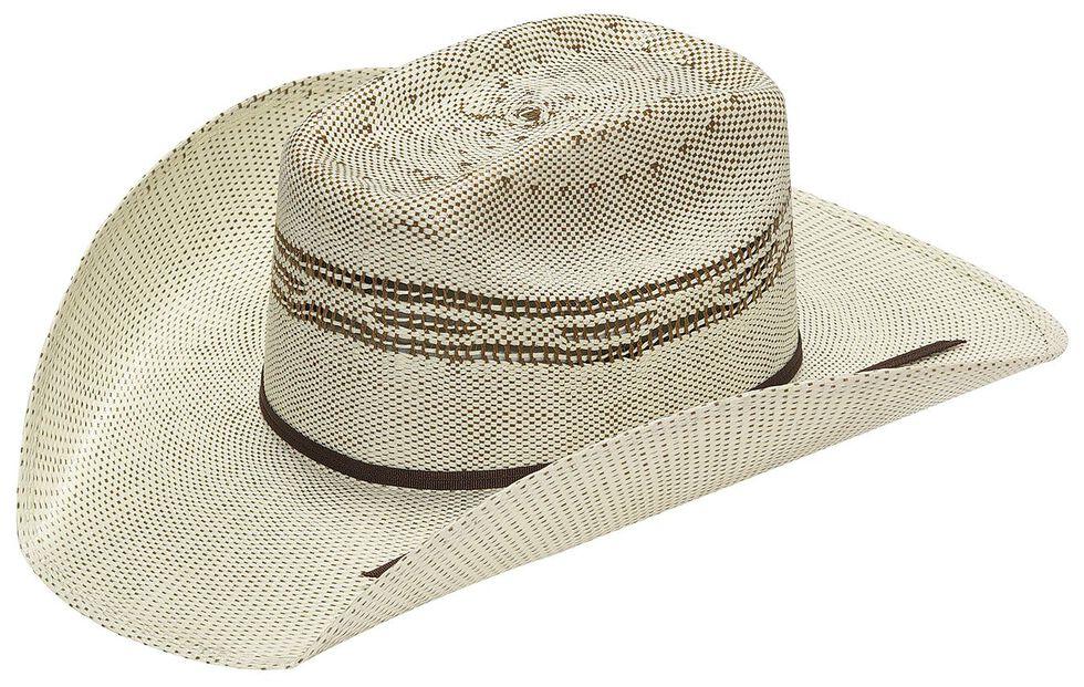 Twister Kids  Brown Bangora Straw Cowboy Hat  8b806d533aa
