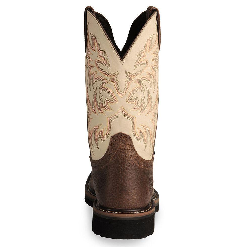 Justin Men S Stampede Driller Copper Work Boots Soft Toe