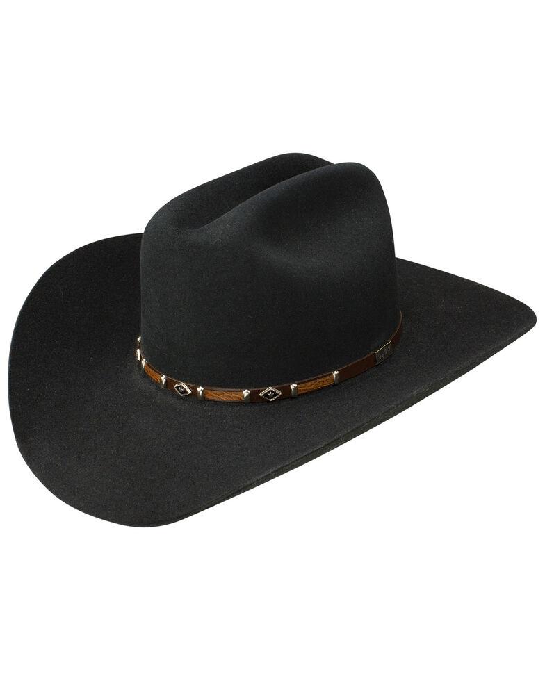 George Strait by Resistol Black Rock 6x Felt Cowboy Hat  1e7b90d7b8e