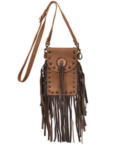STS Ranchwear Women's Chaps Stadium Bag, Brown, hi-res