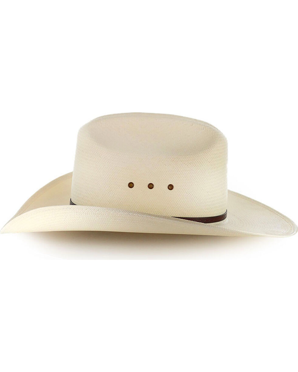 Moonshine Spirit 8X River Bank Straw Cowboy Hat, Natural, hi-res