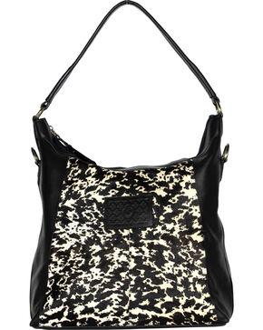 Designer Concealed Carry Black Sonoma Hobo Handbag, Black, hi-res
