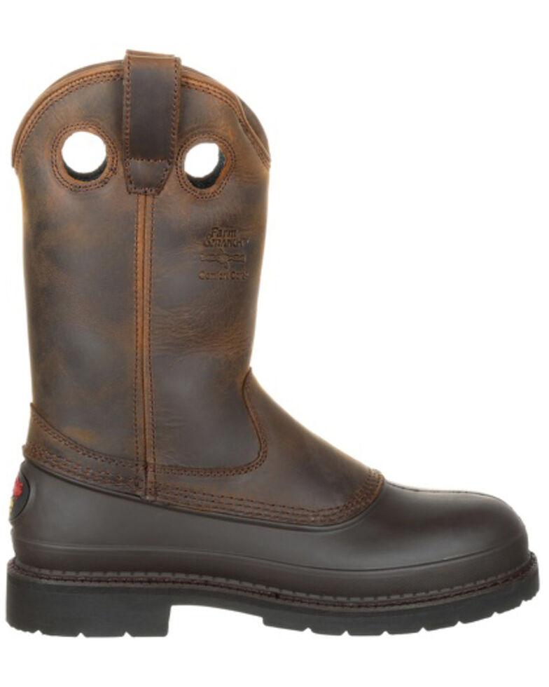 Georgia Mud Dog Pull-On Work Boots, Tan, hi-res
