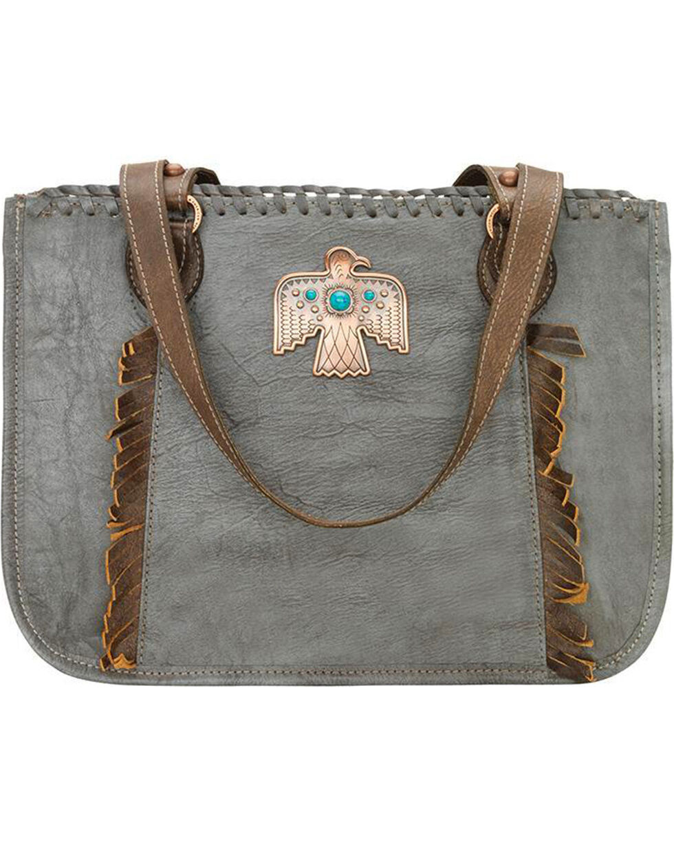 American West Women's Thunderbird Ridge Multi-Compartment Zip Top Tote, , hi-res