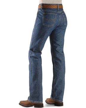Wrangler Women's Flame Resistant Work Jeans, Denim, hi-res