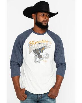 Moonshine Spirit Men's Freedom Eagle T-Shirt, Navy, hi-res
