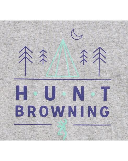 Browning Toddler Boys' Grey Hunt Pines Tee , Grey, hi-res