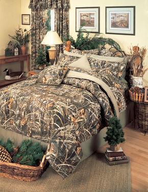 Realtree Max-4 Queen Comforter Set, Camouflage, hi-res