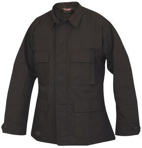 Tru-Spec Men's Black BDU Coat, Black, hi-res