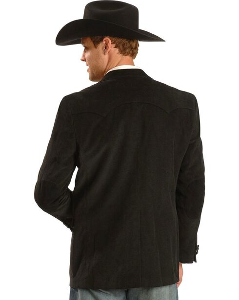 Circle S Corduroy Sport Coat - Big and Tall, Black, hi-res