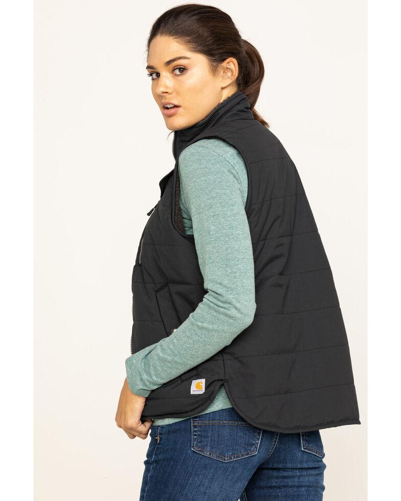Carhartt Women's Utility Sherpa Lined Vest , Black, hi-res