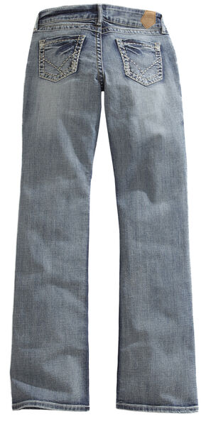 Tin Haul Women's Bootcut Rosie To Go The Go To Zig Zag Jeans, Denim, hi-res