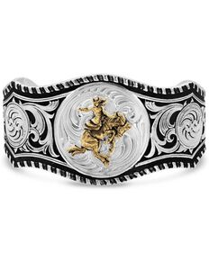 Montana Silversmiths Women's Art Of The Cowgirl Cuff Bracelet, Silver, hi-res