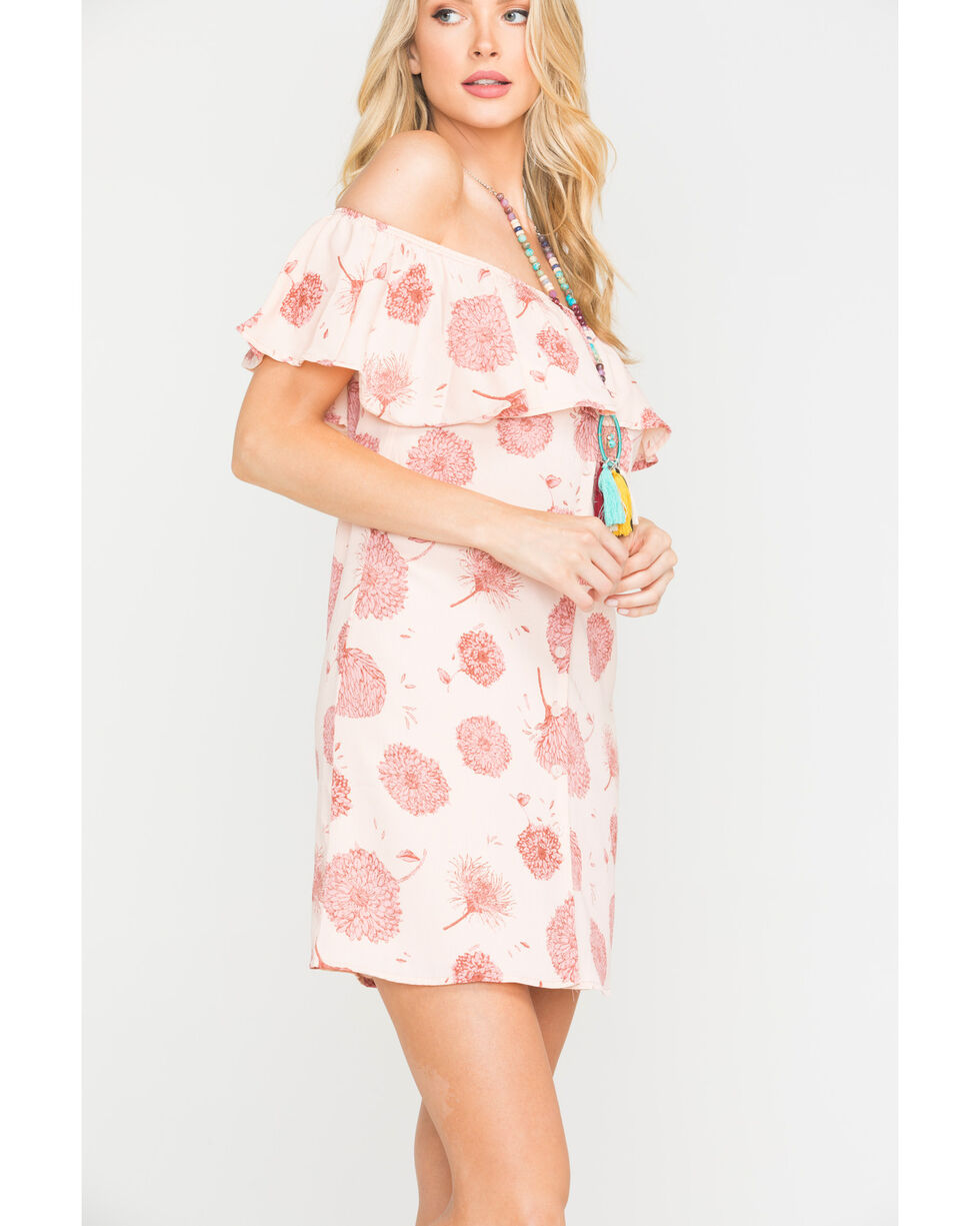 Sage the Label Women's Peach Queen of the Highway Dress , Peach, hi-res