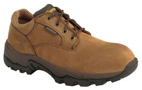 Chippewa Waterproof Bay Apache Oxford Work Shoes - Composition Toe, Bay Apache, hi-res