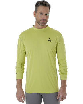 Wrangler Men's Bright Green Rugged Wear All-Terrain T-Shirt , Bright Green, hi-res