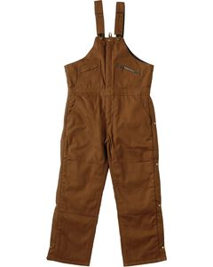 Exclusive Gibson Trading Co. Insulated Bib Overalls, Brown, hi-res
