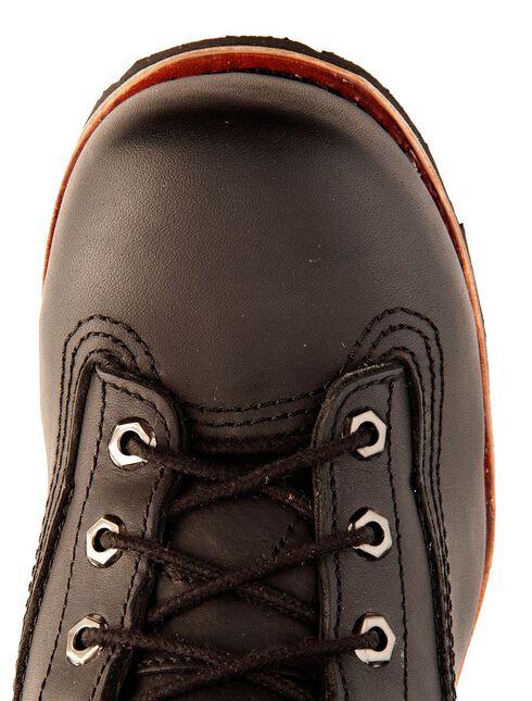 "Chippewa Men's Lace-Up 8"" Logger Boots - Composition Toe, Black, hi-res"