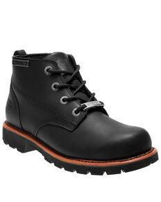 Harley Davidson Men's Broxton Moto Boots - Round Toe, Black, hi-res