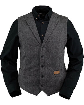 Outback Trading Co. Men's Black Jessie Vest , Black, hi-res