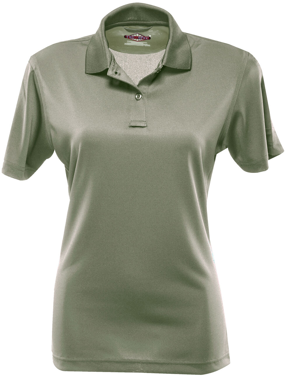 Tru-Spec Women's 24-7 Short Sleeve Performance Polo Shirt - Extra Large Sizes, Green, hi-res