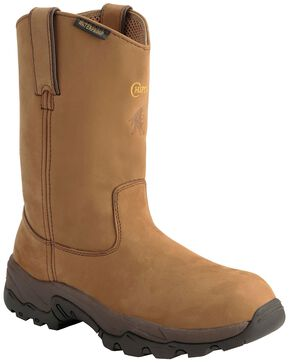 Chippewa Waterproof Apache Pull-On Work Boots - Composition Toe, Bay Apache, hi-res