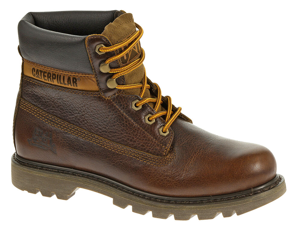 """Caterpillar Colorado 6"""" Lace-Up Work Boots - Round Toe, Ginger, hi-res"""
