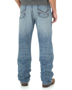 Wrangler Men's Blue 20X No. 33 Relaxed Jeans - Straight Leg , Blue, hi-res