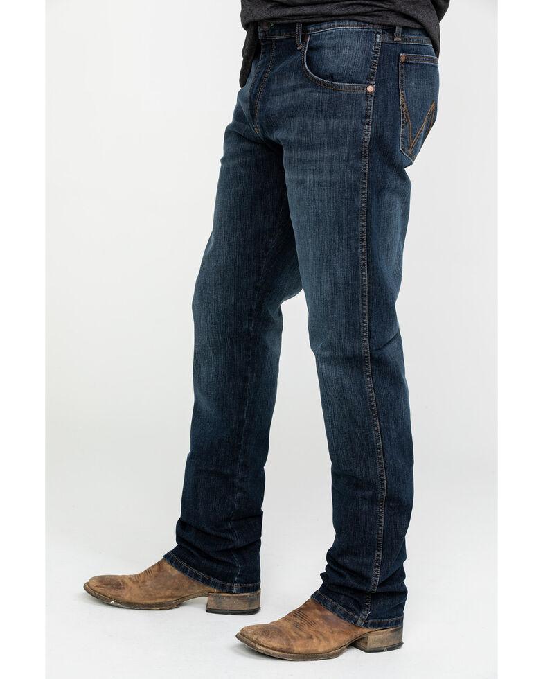 Wrangler Retro Men's Barrick Slim Straight Jeans , Blue, hi-res