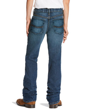 Ariat Boys' B5 Marshall Stretch Slim Straight Jeans , Medium Blue, hi-res