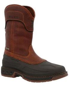 Georgia Boot Men's Carbo-Tec Waterproof Western Work Boots - Soft Toe, Brown, hi-res