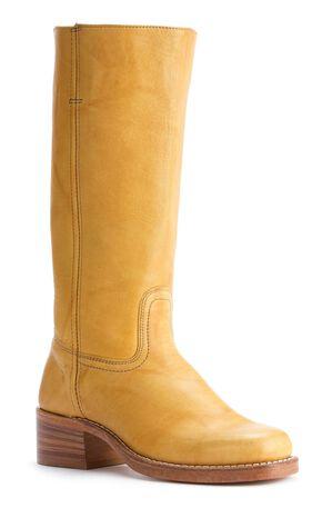 Frye Men's Campus 14L Boots - Square Toe, Banana, hi-res
