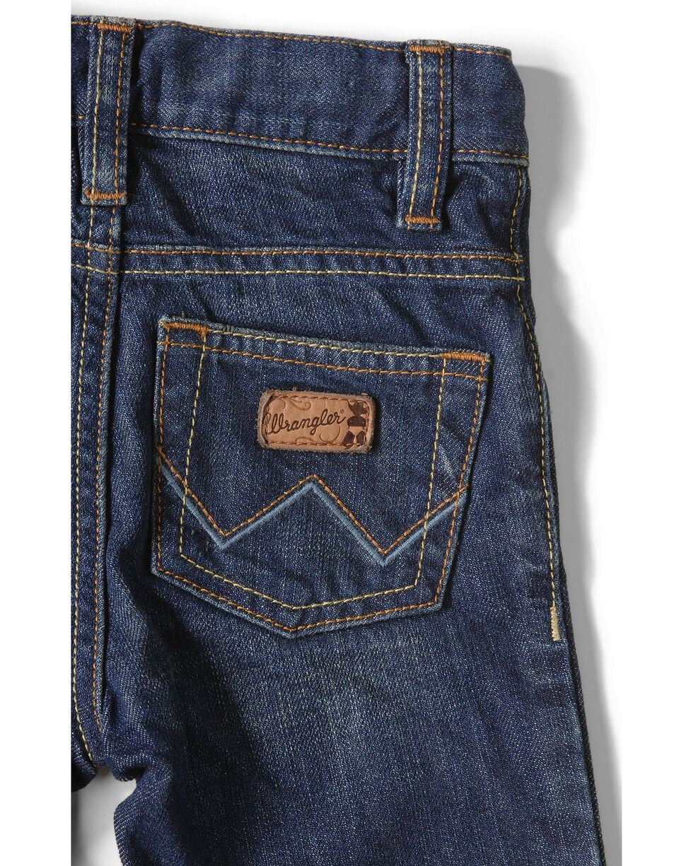 Wrangler Infant/Toddler Boys Jeans - 3-18 Months, Med Wash, hi-res