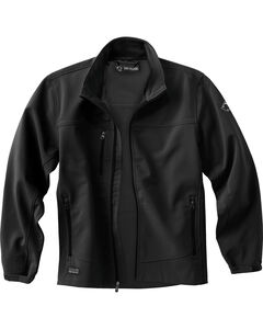 Dri Duck Men's Motion Softshell Jacket, Black, hi-res