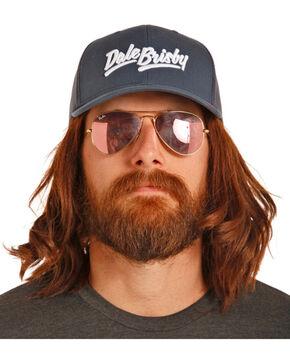 Rock & Roll Cowboy Men's Dale Brisby Navy Mesh Back Trucker Cap, Navy, hi-res
