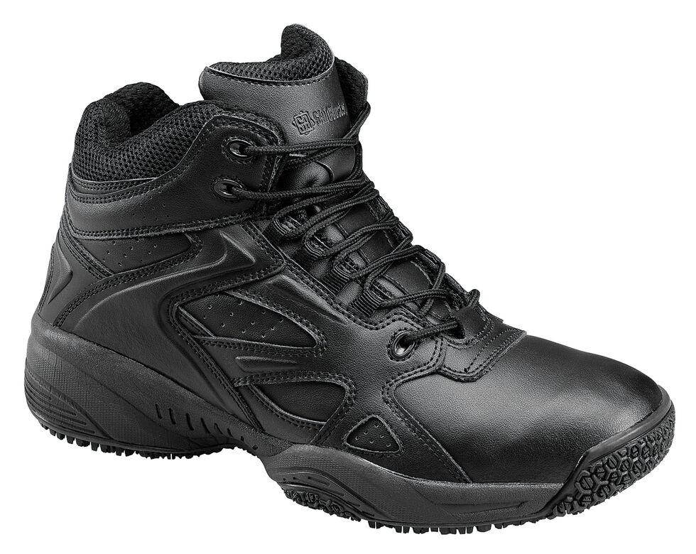 Skidbuster Men's Water Resistant High Top Work Shoes, Black, hi-res