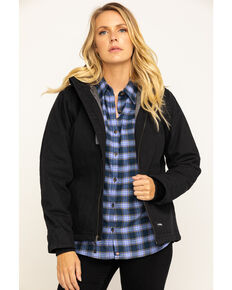 Berne Women's Black Softstone Modern Jacket, Black, hi-res